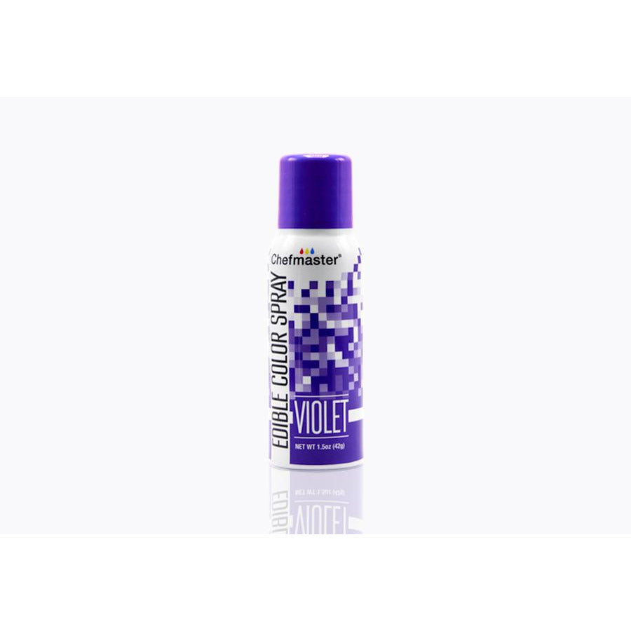 Chefmaster Edible Spray Paint Violet (# 3638) 1.5 OZ