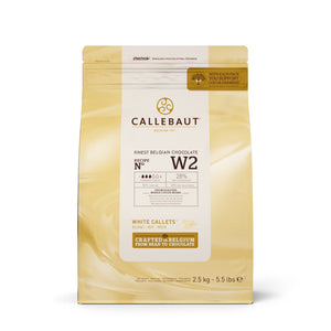 Callebaut Finest Belgian White Chocolate W2 2.5 kg
