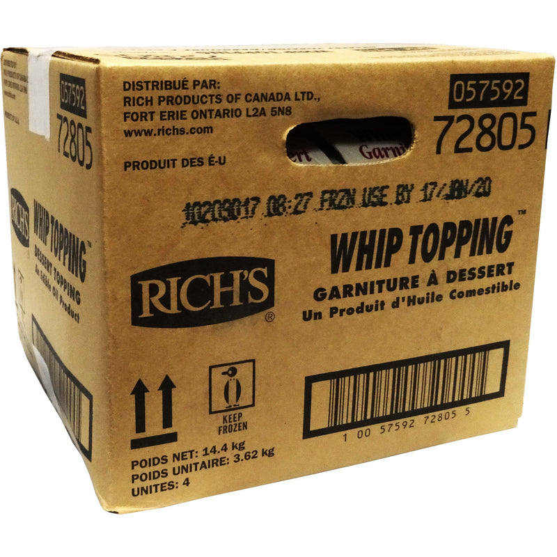 Rich's Whip Topping (72805)  1 x 3.62 kg