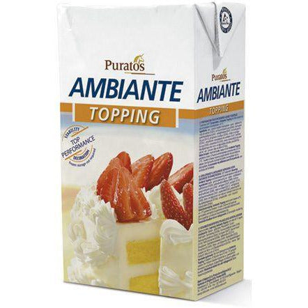 Ambiante Non Dairy Cream Topping 33.814 fluid oz.