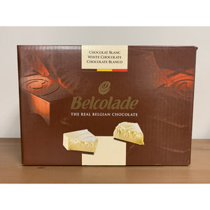 Belgium White Chocolate Block 2.5 kg