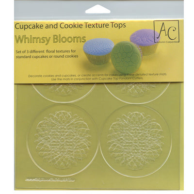 Whimsy Blooms Cupcake / Cookie Texture Tops
