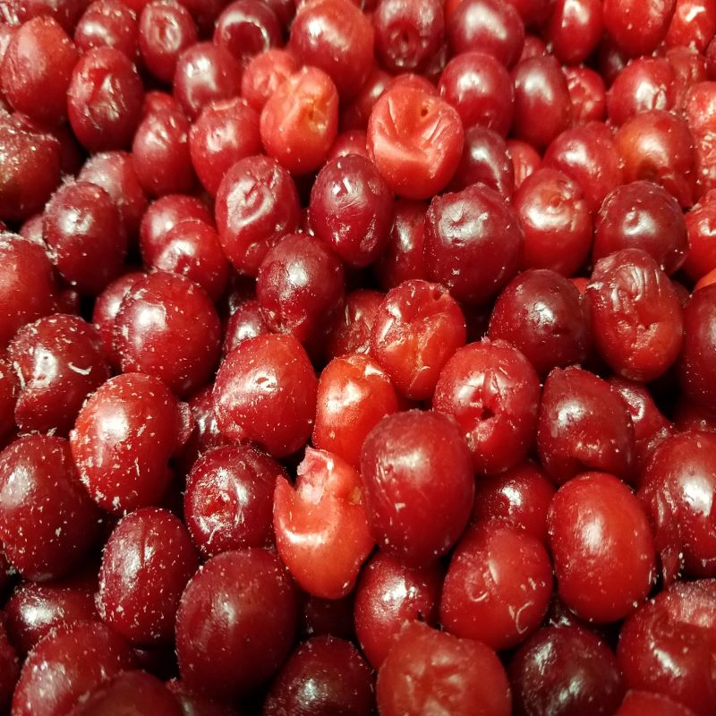 Frozen IQF Sour Cherries 40 lb
