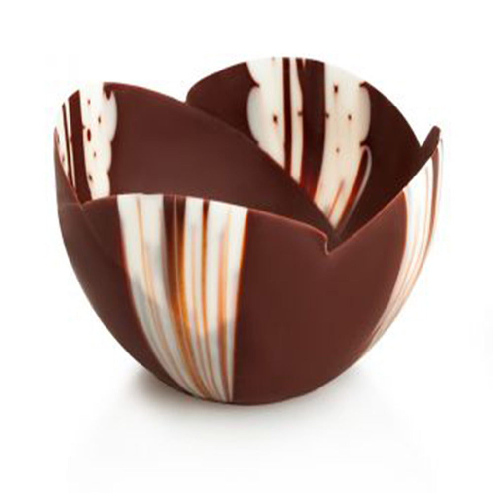 Papagino Large Tulip Marbled Chocolate Cup