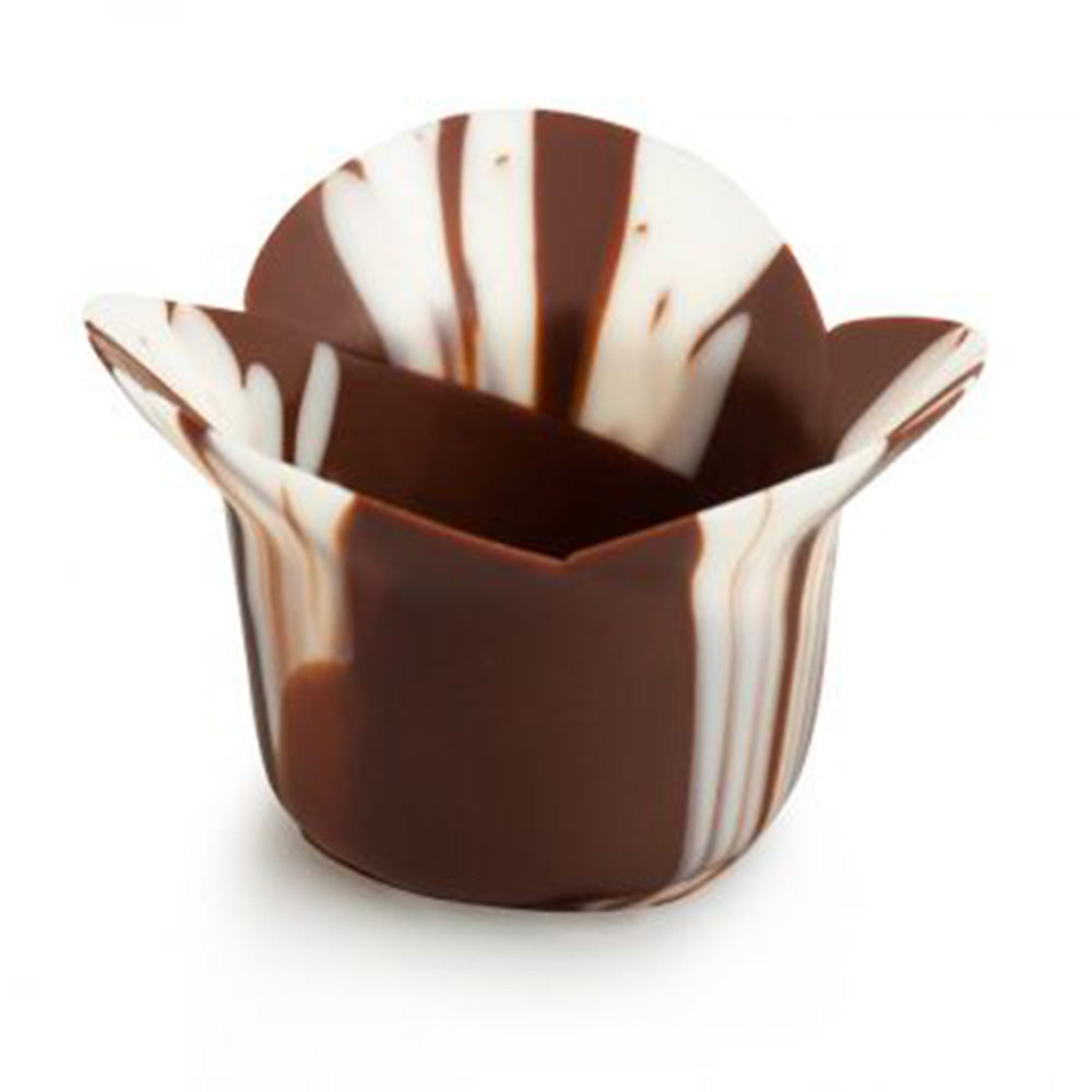 Papagino Clover Marbled Chocolate Cup