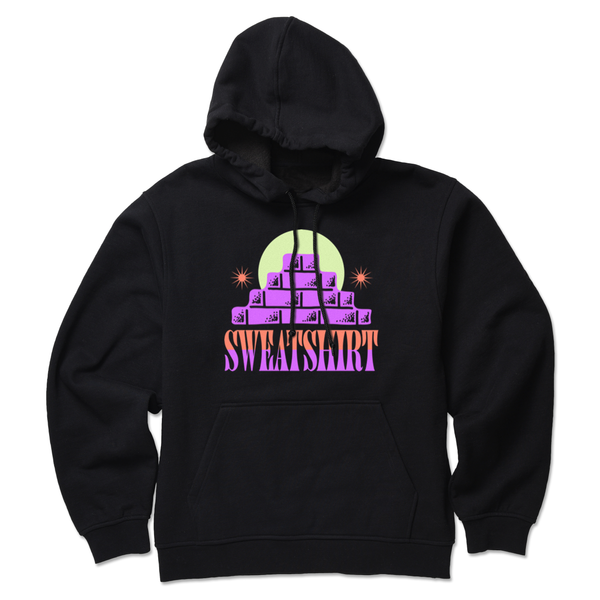 The BRICKS BLACK HOODIE from SWEATSHIRT by EARL SWEATSHIRT