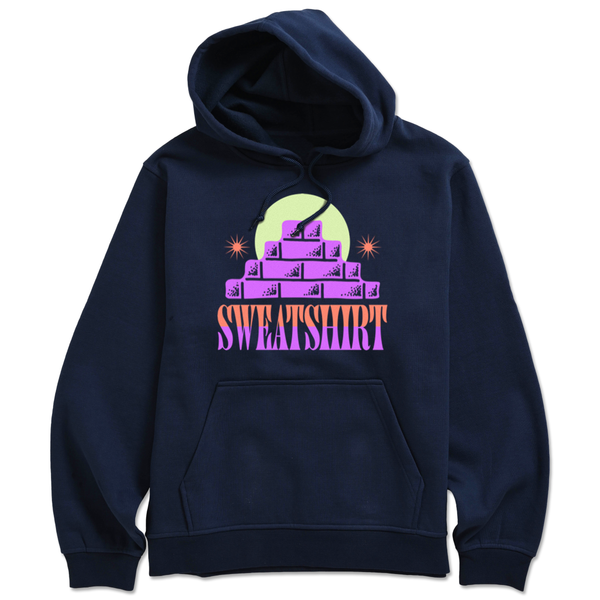 The BRICKS NAVY HOODIE from SWEATSHIRT by EARL SWEATSHIRT