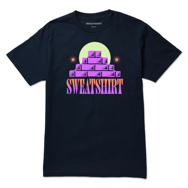 The BRICKS NAVY TEE from SWEATSHIRT by EARL SWEATSHIRT