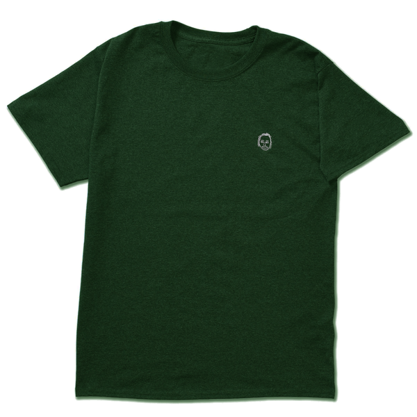 EARL FACE TEE FOREST GREEN by rapper Earl Sweatshirt