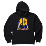 The FLOWER BLACK HOODIE from SWEATSHIRT by EARL SWEATSHIRT