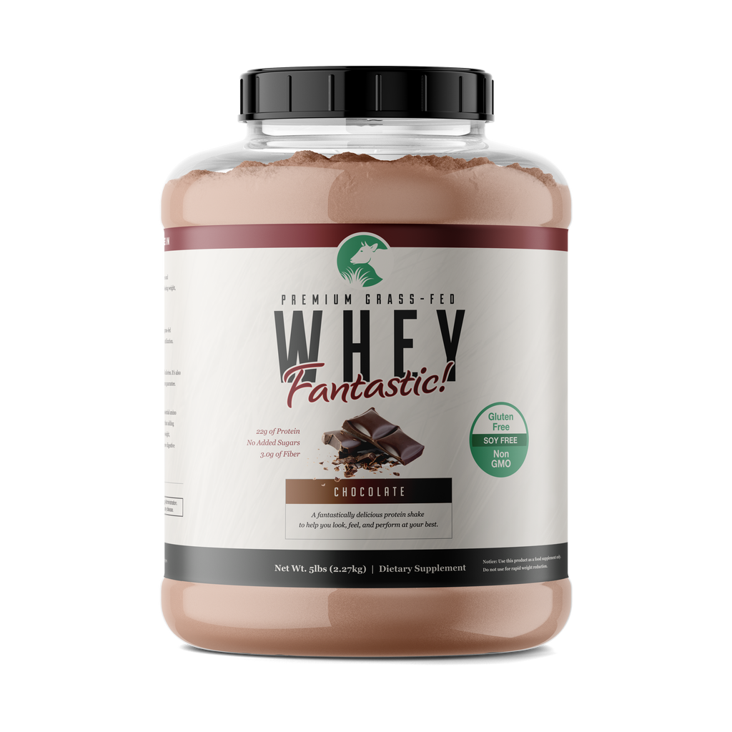 Whey Fantastic! - Chocolate - All Natural Grass Fed Whey Protein
