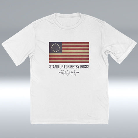 Original Betsy Ross Flag T-shirt, White