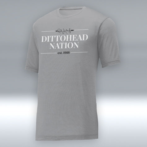 "Dittohead Nation ""T"" Silver"