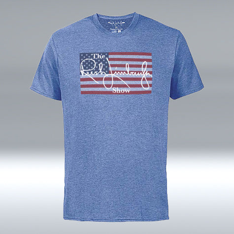 "The Rush Limbaugh Show ""T"" Royal Blue Heather"