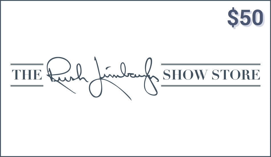 RUSH LIMBAUGH SHOW STORE eGIFT CARD