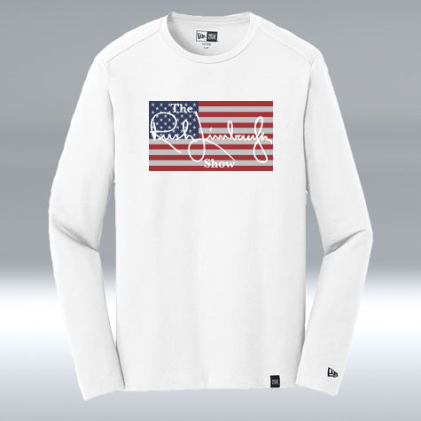 "The Rush Limbaugh Show Long Sleeve ""T"" White"