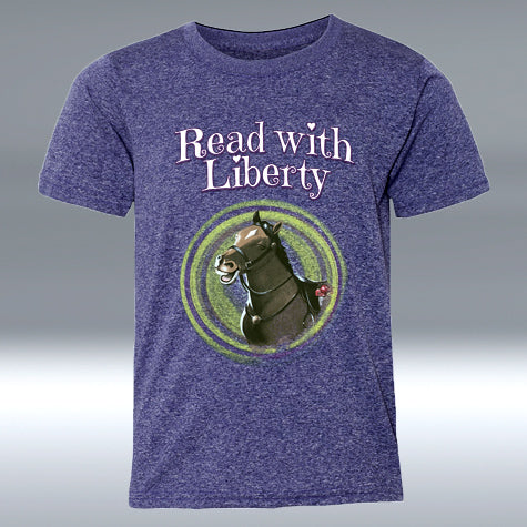 "Read with Liberty Youth ""T"" Purple Heather"