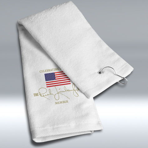 30th Anniversary Show Member Golf Towel White