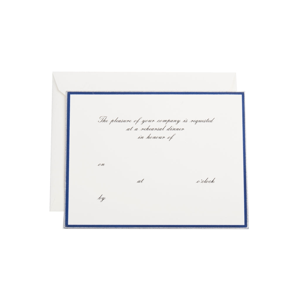 Rehearsal Dinner Fill In Invitation See More Colors Dempsey Carroll