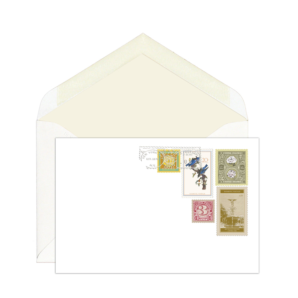 STAMP COLLECTION: CORRESPONDENCE CARDS (SEE MORE COLORS)