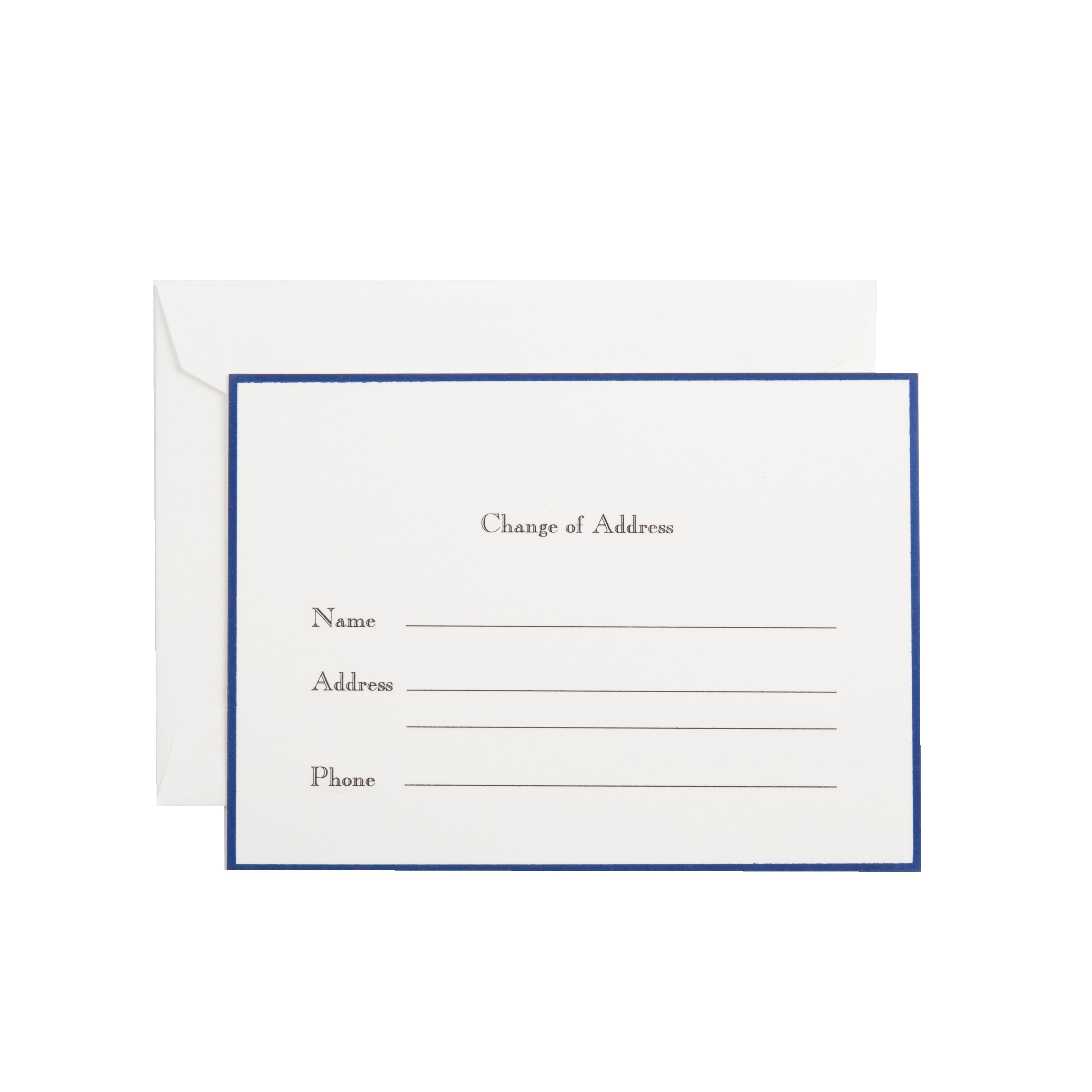 change of address card see more colors dempsey carroll