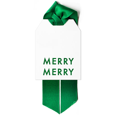 Merry Merry Gift Tag Set