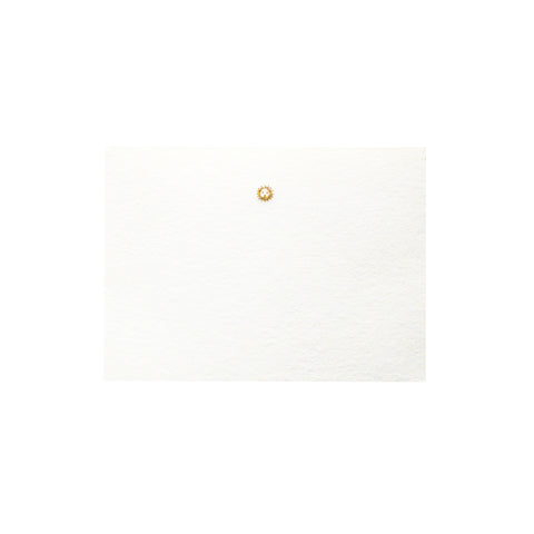 Gold Sun Place Card