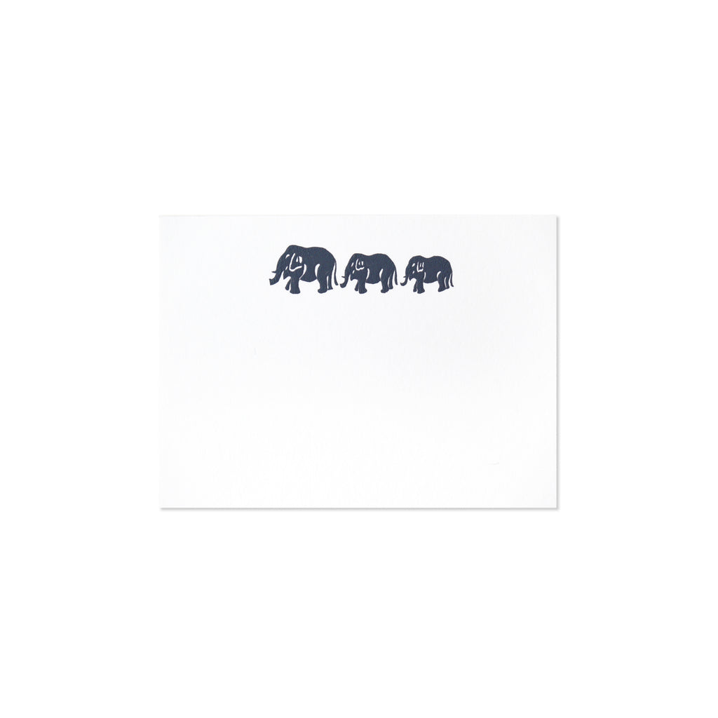 THREE GRAY ELEPHANTS ENCLOSURE SET