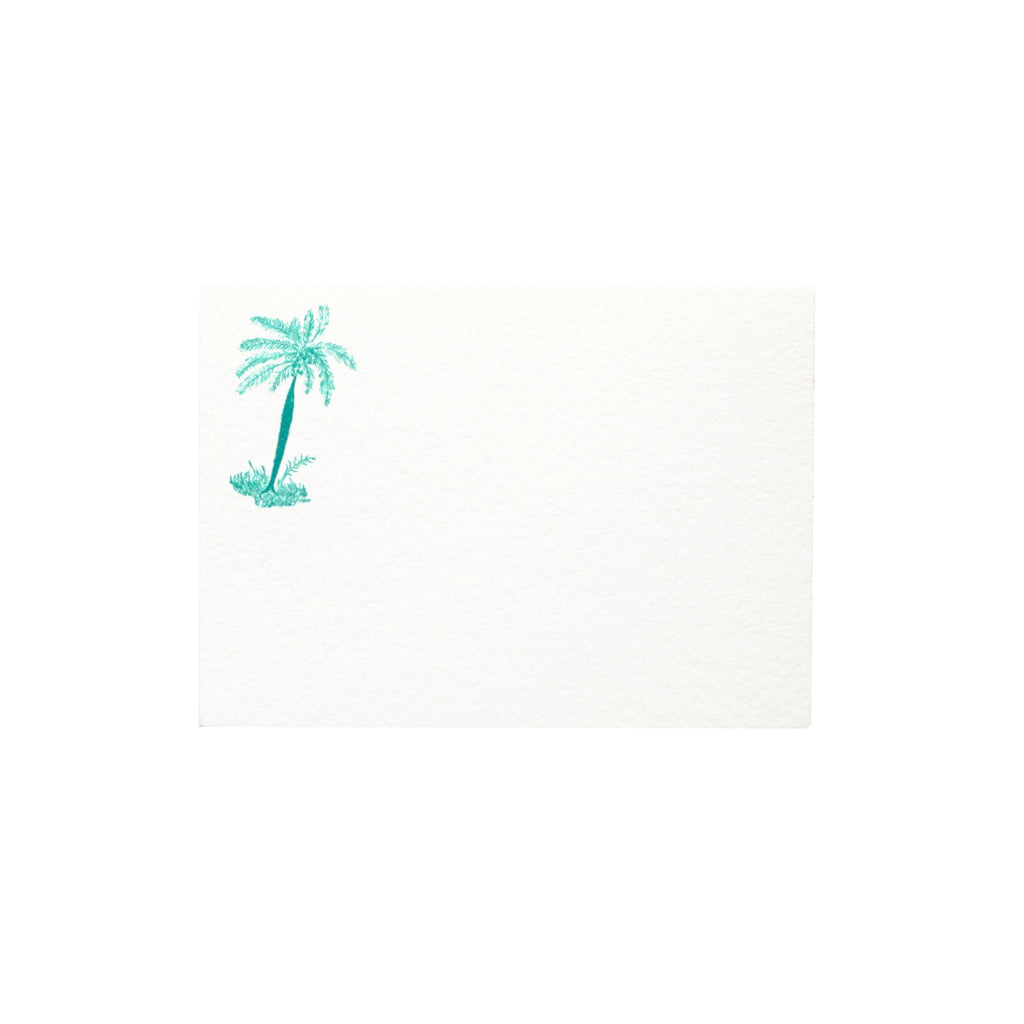 Palm Tree Place Card