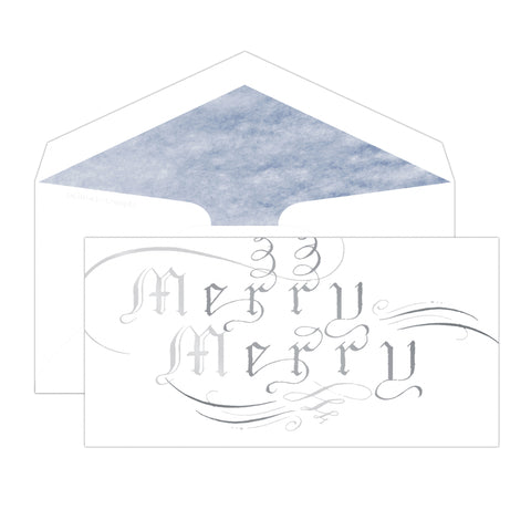The Pen & Ink Collection: Personalized Merry Merry
