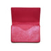 Magnetic Business Card Case in Cerise
