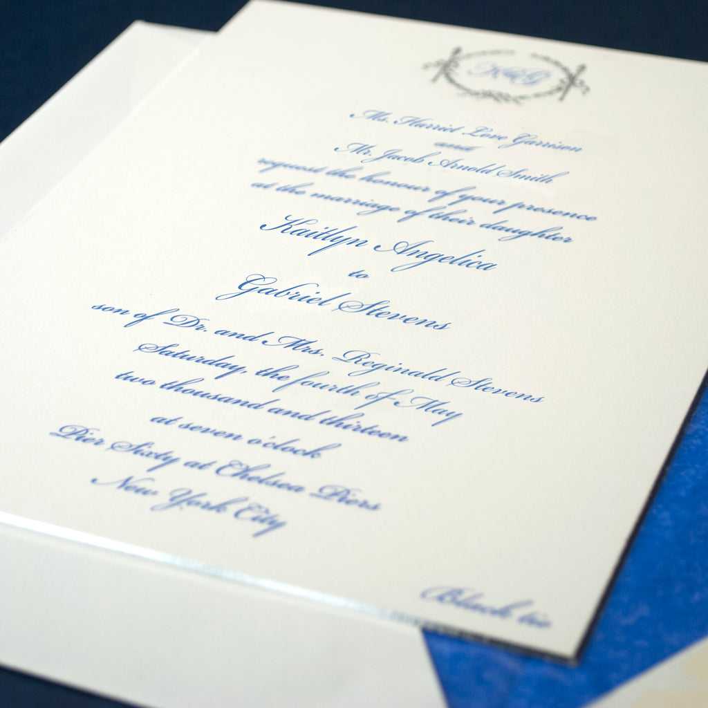 Email Wedding Invites: MOTIF WEDDING INVITATION