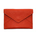 Mini Leather Envelope in Orange