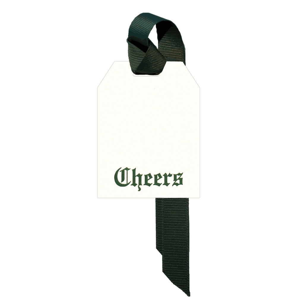 Classic Cheers Gift Tag Set