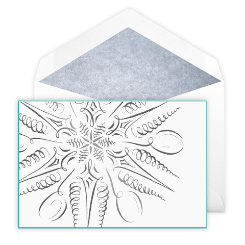 PEN & INK SNOWFLAKE