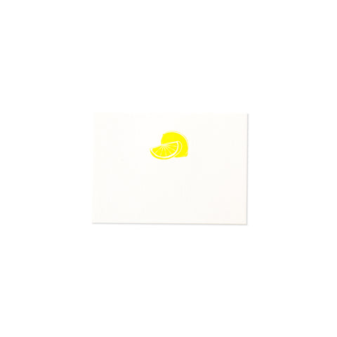 LEMON PLACE CARD
