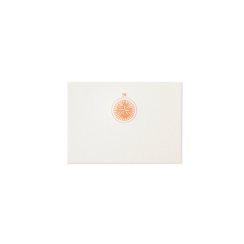 COMPASS ROSE PLACE CARD