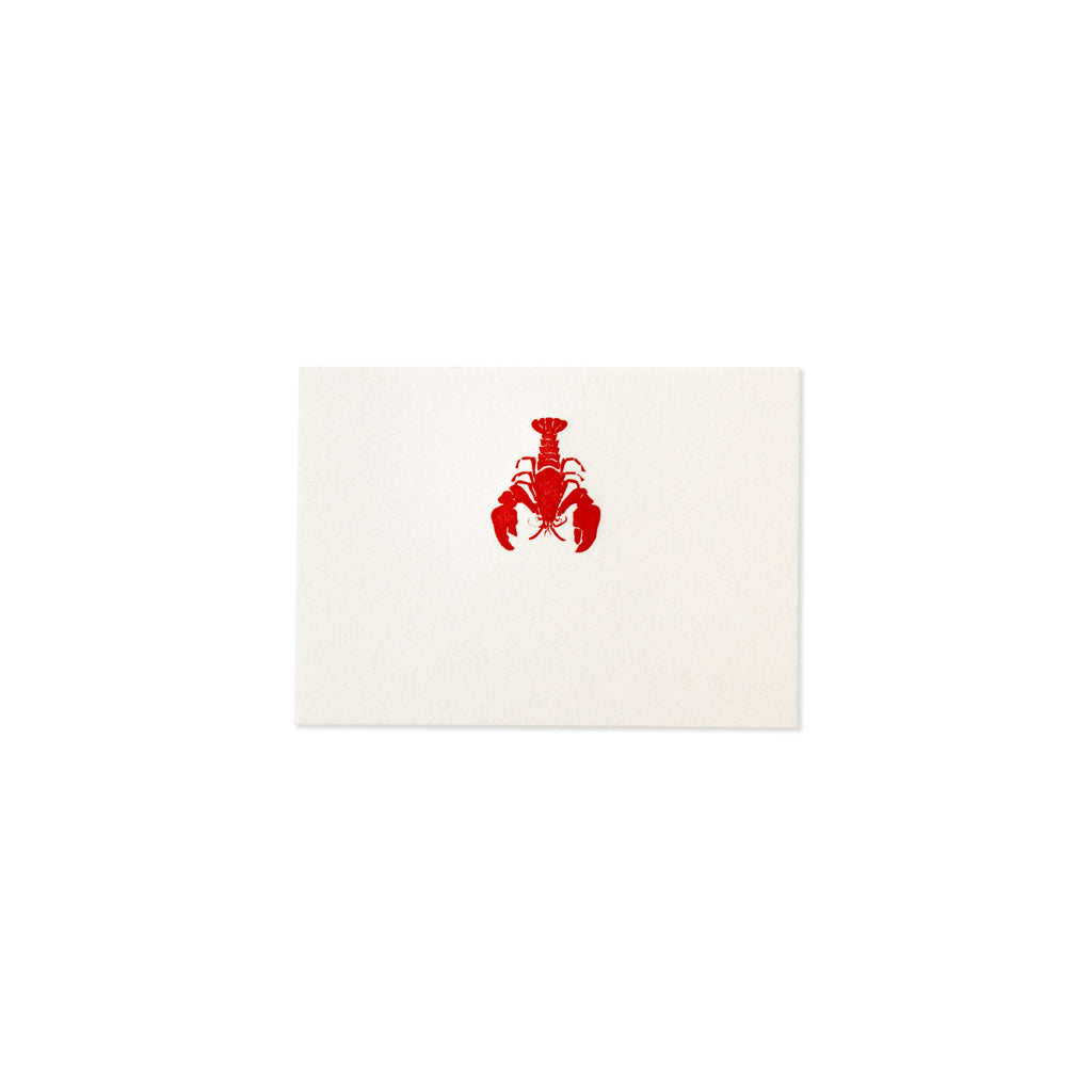 LOBSTER PLACE CARD