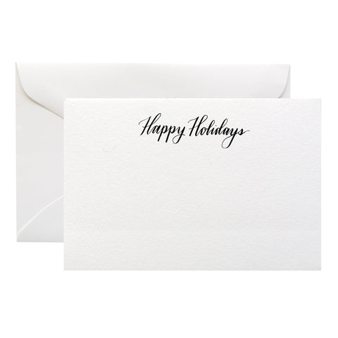 HAND-LETTERED HOLIDAY CARDS