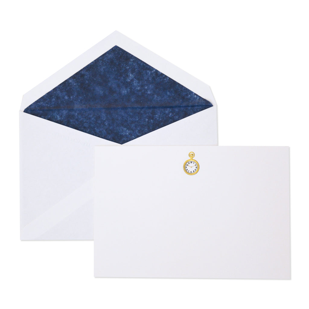 POCKET WATCH CORRESPONDENCE CARDS