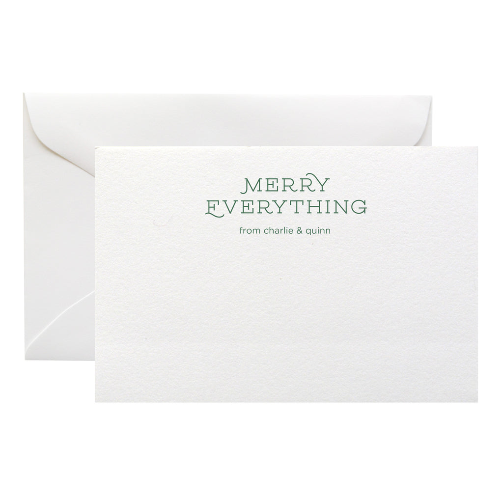 BASIC BESPOKE HOLIDAY: MERRY EVERYTHING
