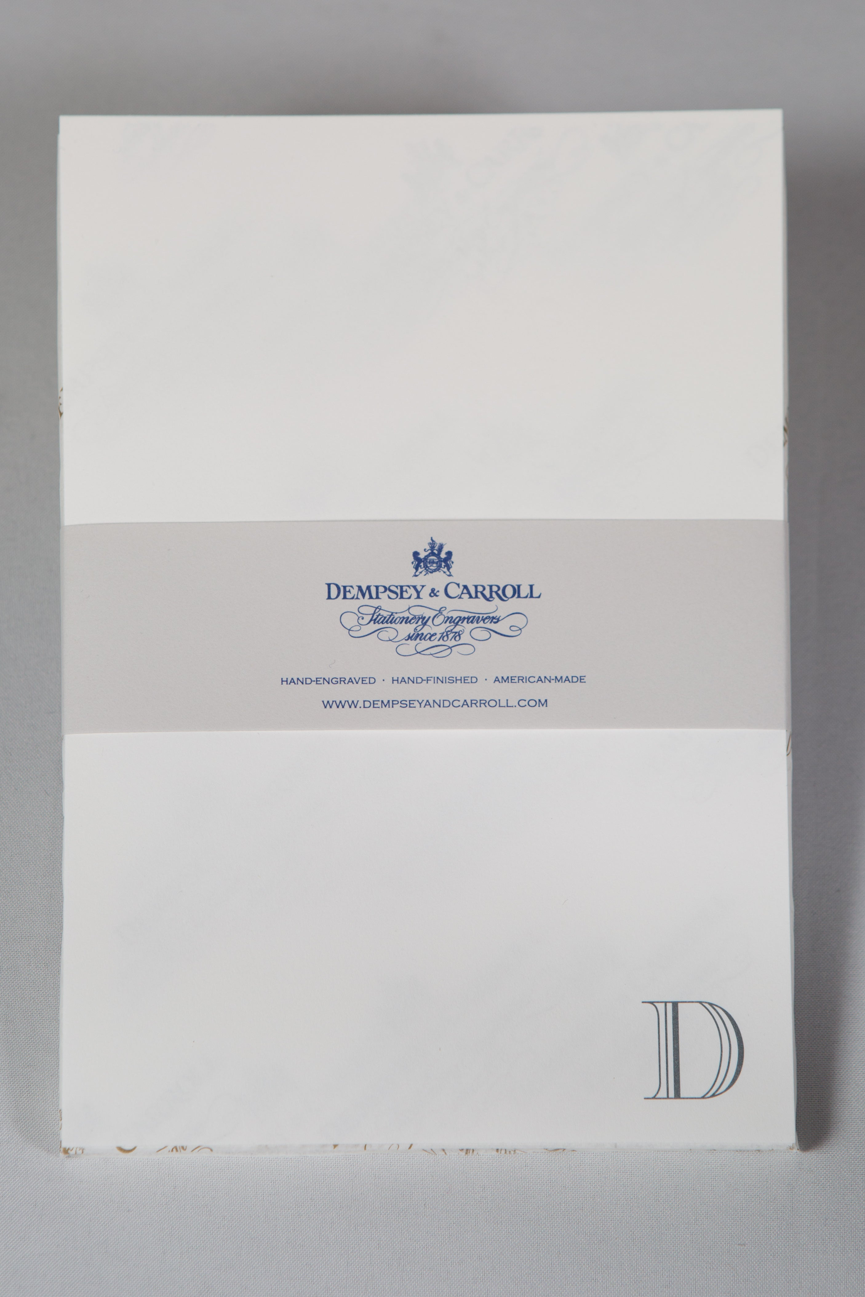 the initial collection notepads dempsey carroll