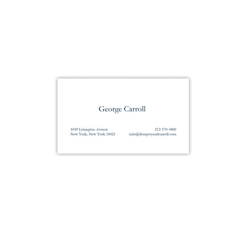 Calling business cards choice image business card template business calling cards dempsey carroll our business card 124 colourmoves colourmoves
