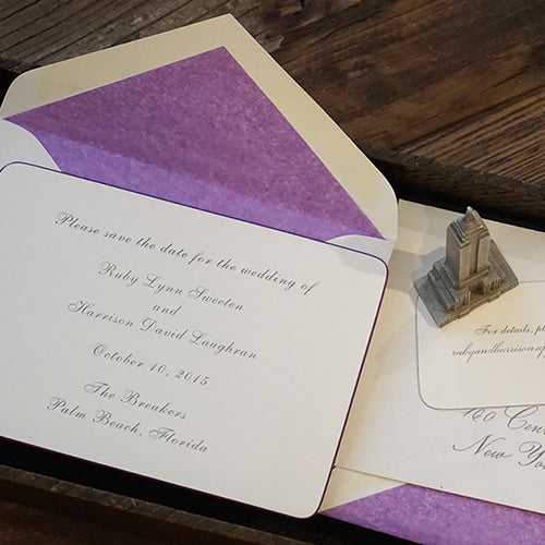 A When-to For Wedding Invitations