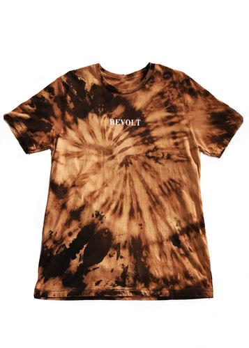 Custom Bleach Dyed Revolt T-Shirt