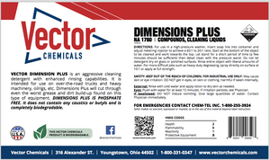Dimensions Plus Truck, Tractor/Trailer & Bus Wash Super Concentrate
