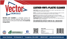 LVP Leather-Vinyl-Plastic Cleaner Concentrate