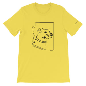 Monté | Crew Neck T-Shirt | Badly Drawn Bisbee