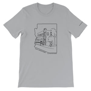 The Stock Exchange | Crew Neck T-Shirt | Badly Drawn Bisbee