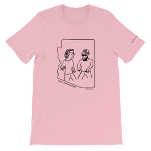 Ben & Jon | Crew Neck T-Shirt | Badly Drawn Bisbee™